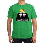 Gay Wedding Men's Fitted T-Shirt (dark)
