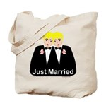 Gay Wedding Tote Bag