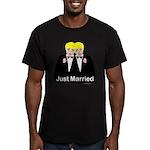 Gay Wedding Men's Fitted T-Shirt (dark)