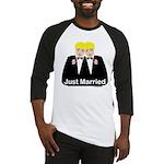 Gay Wedding Baseball Jersey