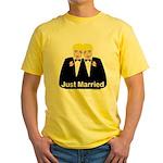 Gay Wedding Yellow T-Shirt