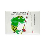 Rectangle Magnet (10 pack) Combat-Fishing(R)