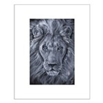 Bold Lion Small Poster