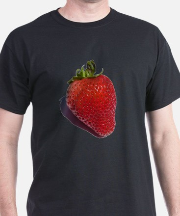 Cute Strawberry berry fruit red ripe botany fresa T-Shirt