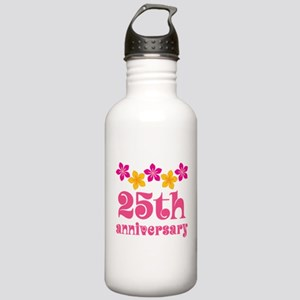 25th Anniversary Gift Cute Stainless Water Bottle