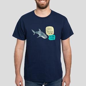 Sharks Are Friends Alternate T-Shirt