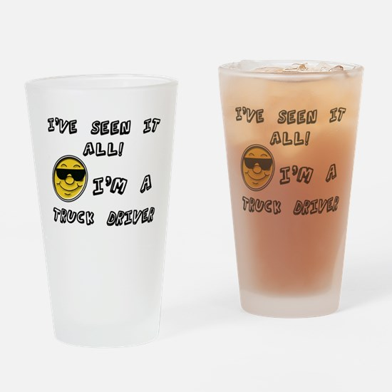 Unique Tow truck Drinking Glass