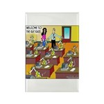The Rat Race Rectangle Magnet (10 pack)
