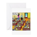 The Rat Race Greeting Card