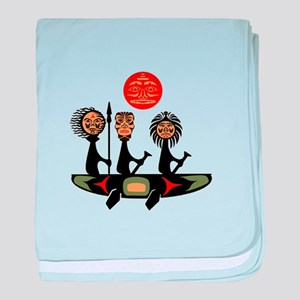 TO VOYAGE ON baby blanket