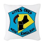 Classic Kone Logo Woven Throw Pillow