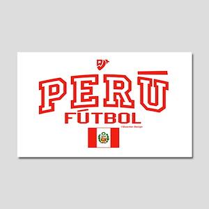 Peru Futbol/Soccer Car Magnet 20 x 12
