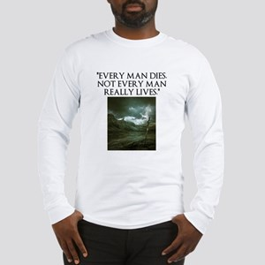Manliness Long Sleeve T-Shirt