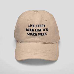Live Shark Week Cap