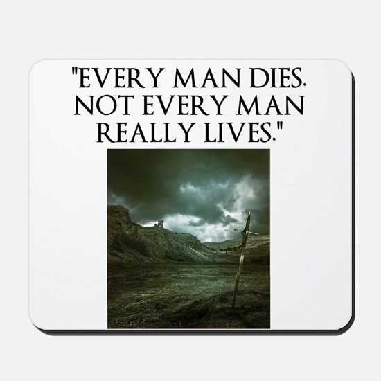Manliness Mousepad