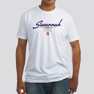 Savannah Script Fitted T-Shirt