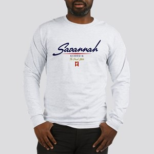 Savannah Script Long Sleeve T-Shirt