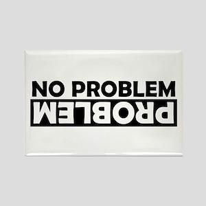 No Problem / Problem Rectangle Magnet