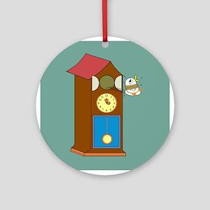 Live Yaya Clock Ornament (Round)