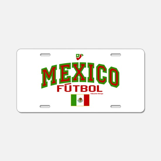 Mexico Futbol/Soccer Aluminum License Plate