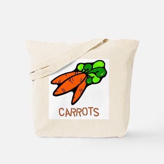 Twin Set -- Carrots Tote Bag
