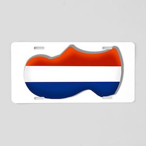 Dutch Clog Aluminum License Plate