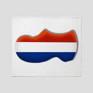 Dutch Clog Throw Blanket