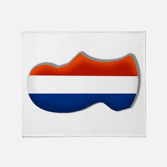 Dutch Clogs Throw Blanket