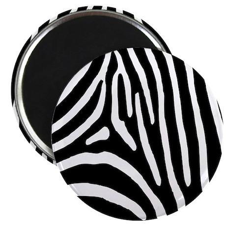 """Zebra Stripes 2.25"""" Magnet (100 pack)"""