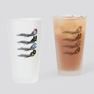 VFA-2 Bounty Hunters Drinking Glass