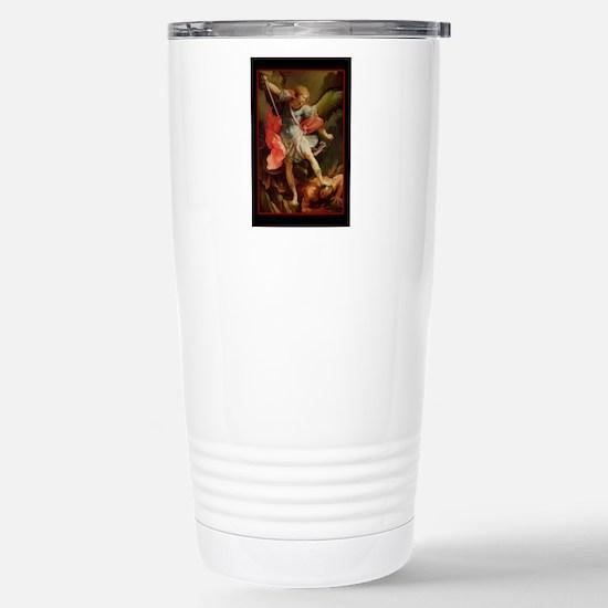 St. Michael - Stainless Steel Travel Mug
