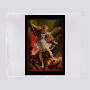 St. Michael - Throw Blanket