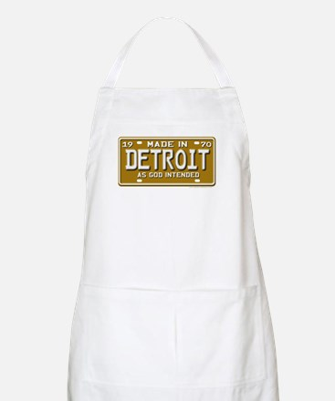 Made in Detroit BBQ Apron