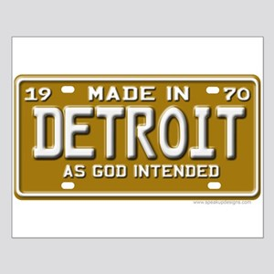 Made in Detroit Small Poster