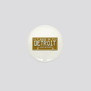 Made in Detroit Mini Button