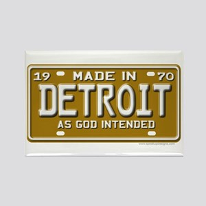 Made in Detroit Rectangle Magnet