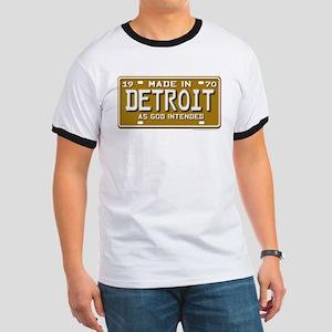 Made in Detroit Ringer T