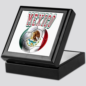 Futbol Mexicano Keepsake Box