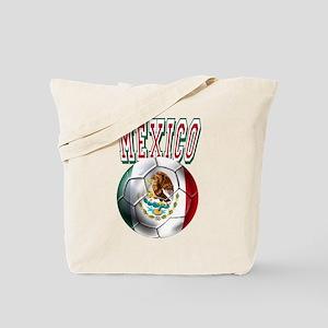 Futbol Mexicano Tote Bag