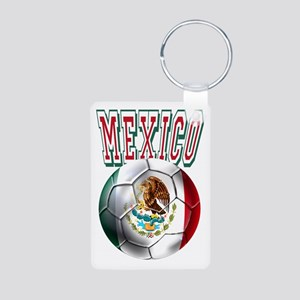 Futbol Mexicano Aluminum Photo Keychain