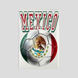 Futbol Mexicano Rectangle Magnet