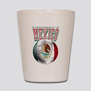 Futbol Mexicano Shot Glass