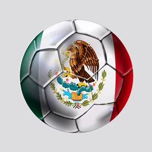 "Futbol Mexicano 3.5"" Button"