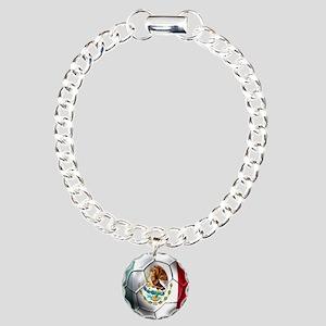 Futbol Mexicano Charm Bracelet, One Charm