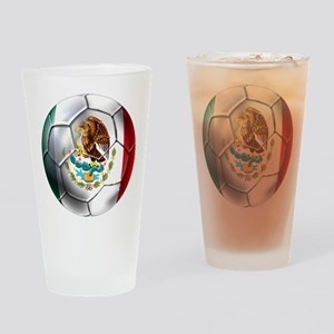 Futbol Mexicano Drinking Glass