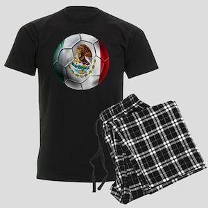 Futbol Mexicano Men's Dark Pajamas