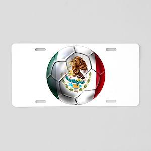 Futbol Mexicano Aluminum License Plate