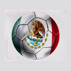 Futbol Mexicano Throw Blanket