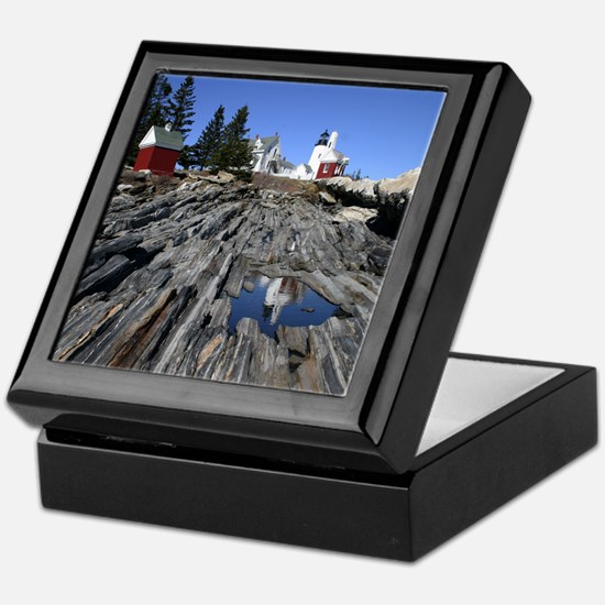 Pemaquid Point Light Keepsake Box