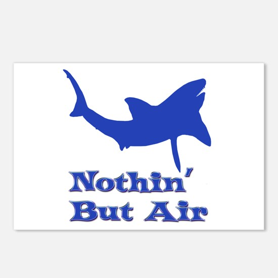 Leaping Great White Postcards (Package of 8)